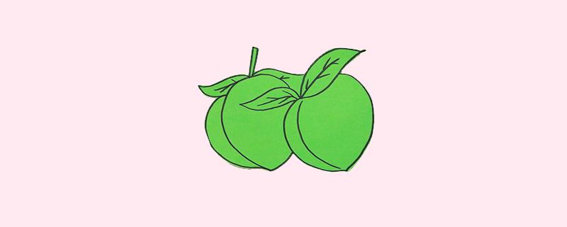 桃子剪纸怎么剪